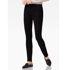 ecru Castro Slim Pull On Pant w/ Side Inset