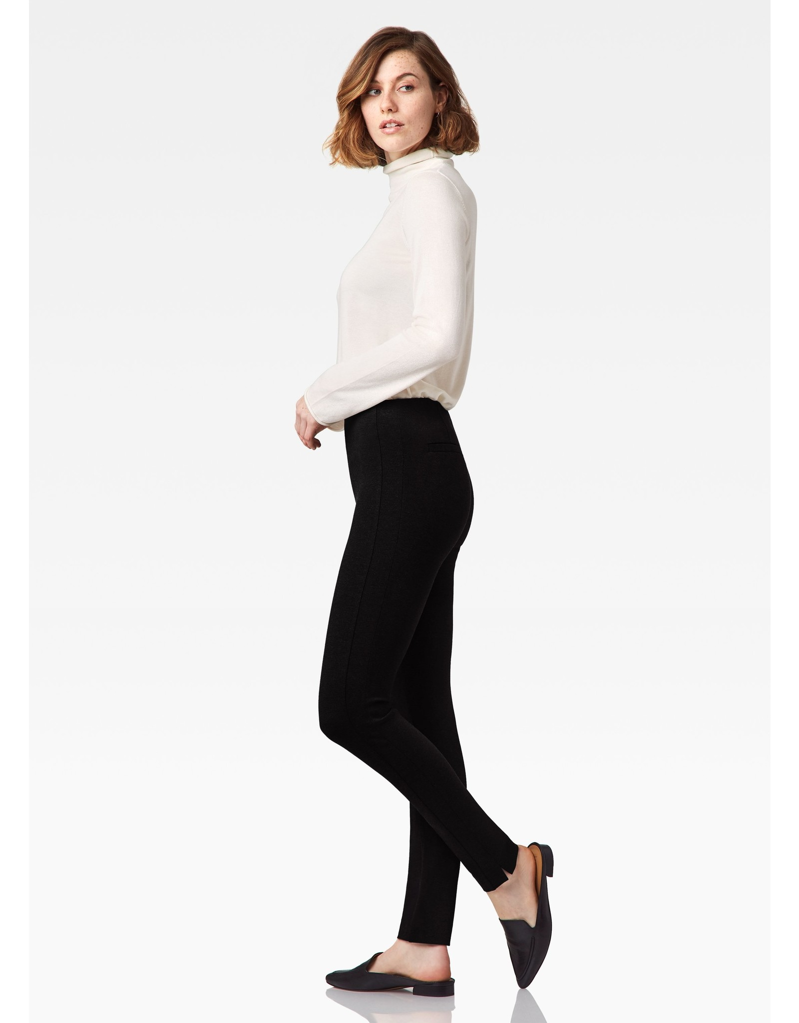 Castro Slim Pull On Pant w/ Side Inset
