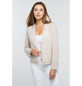 Kinross Crop Textured Cardigan