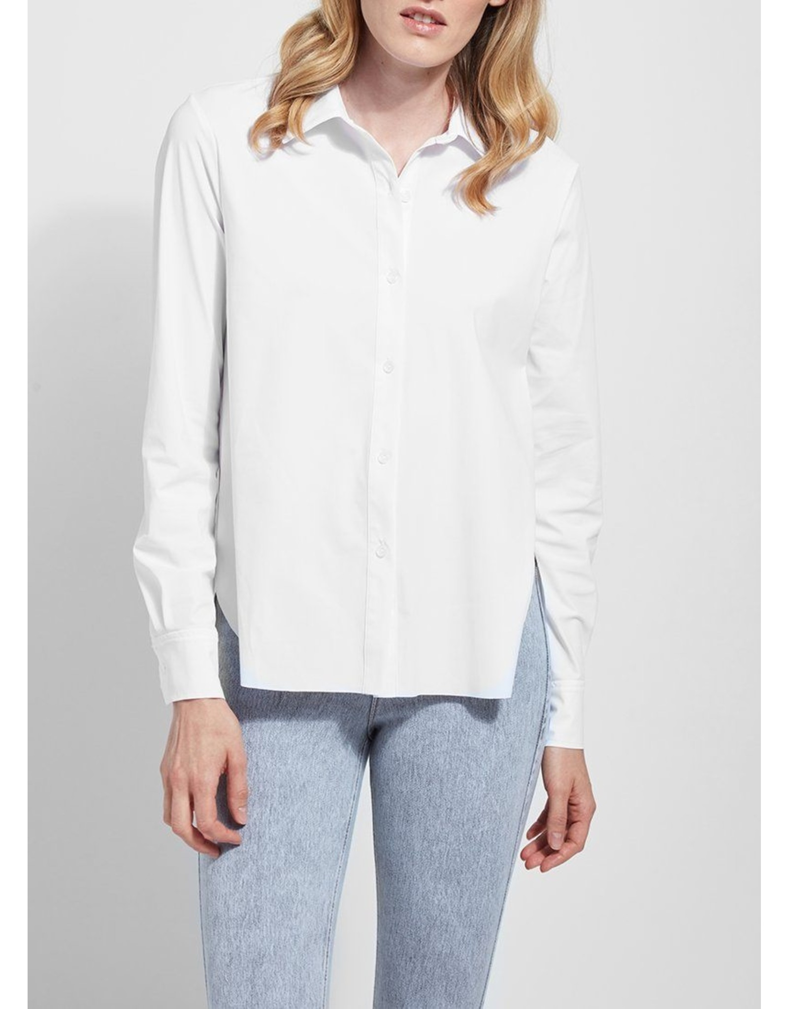 Lyssé Connie Slim Button Down