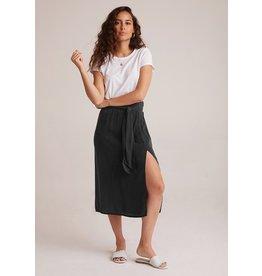 Bella Dahl Smocked Tie Up Midi Skirt