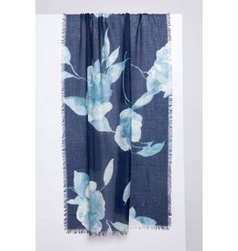Kinross Autumn Bloom Print Scarf