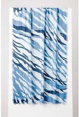 Kinross Tidal Print Scarf