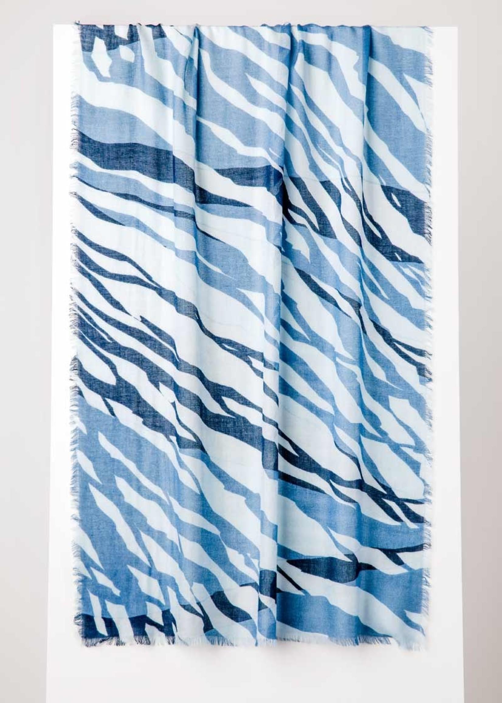 Tidal Print Scarf