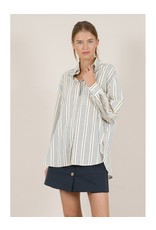 Molly Bracken Striped Shirt