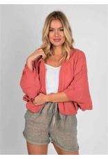 Suzy D Cotton Short Crinkle Jacket