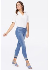 NYDJ Ami Skinny Ankle w/ Embroidered Released Hem