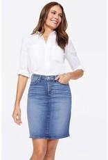 NYDJ 5 Pocket Denim Skirt