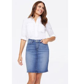 NYDJ 5 Pocket Denim Skirt