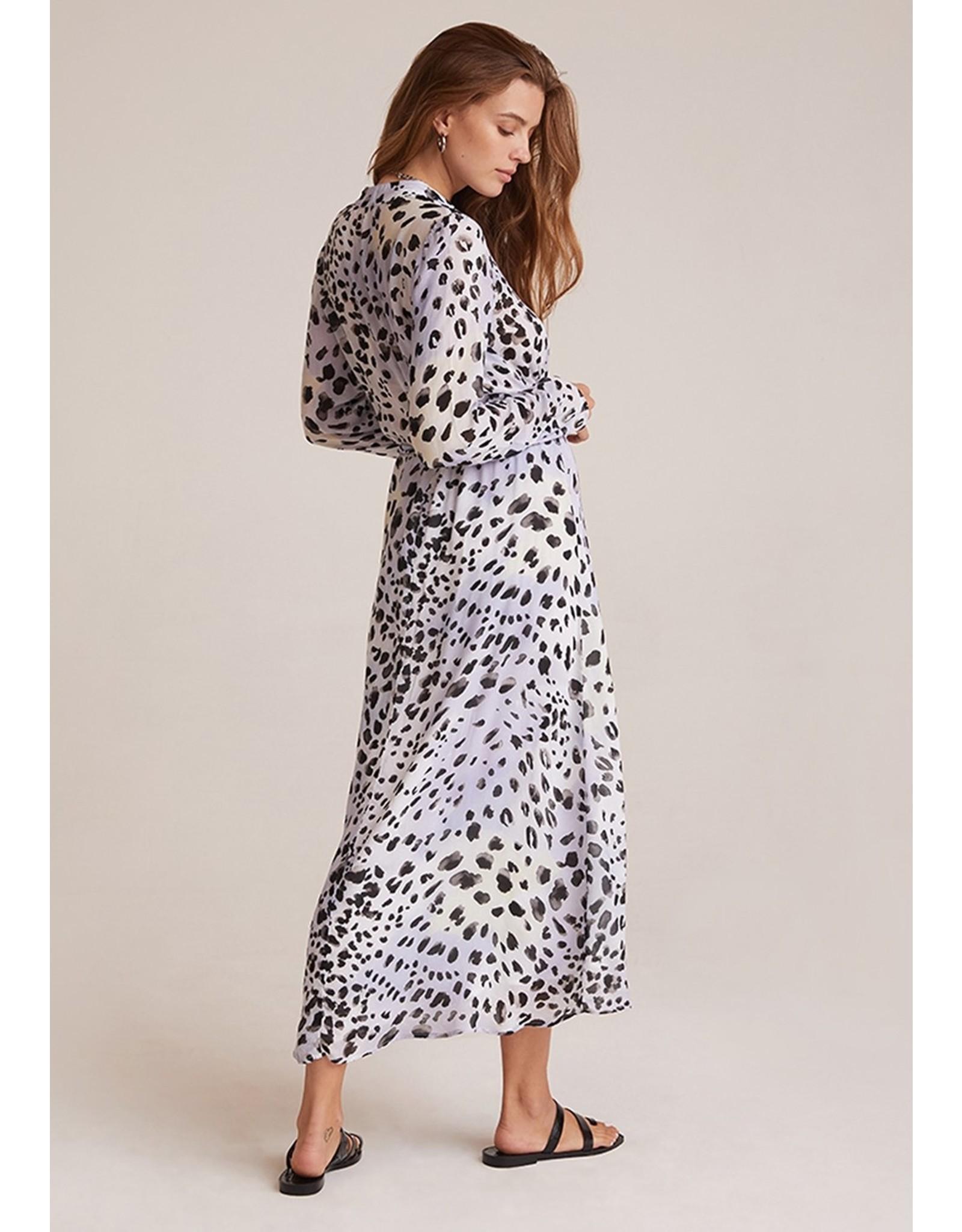 Bella Dahl Print Maxi Shirt Dress