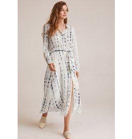 Bella Dahl Shibori Maxi Shirt Dress
