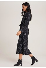 Bella Dahl Tula Floral Maxi Shirt Dress