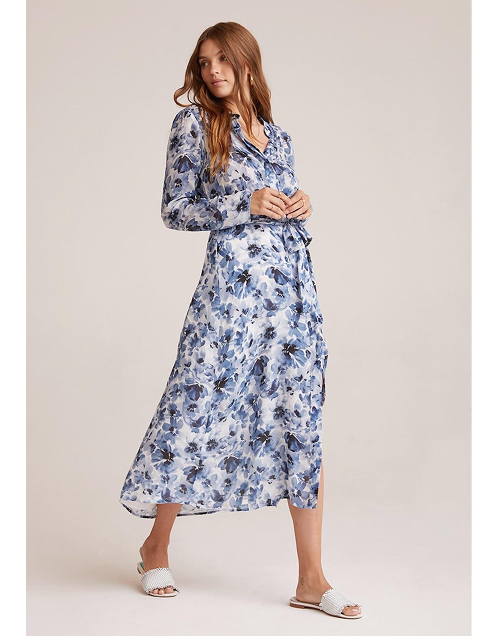 Bella Dahl Floral Maxi Shirt Dress