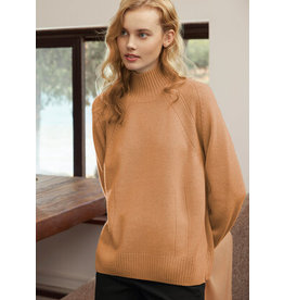 Cashmere Clouds High Neck Sweater