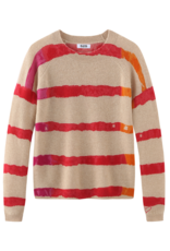 525 America Tie Dye Stripe Cashmere Sweater