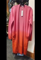 525 America Dip Dye Cashmere Cardigan