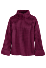 525 America Ribbed Wide Sleeve Turtleneck