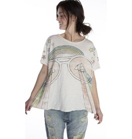 Magnolia Pearl Rainbow Surfer T - Moonlight