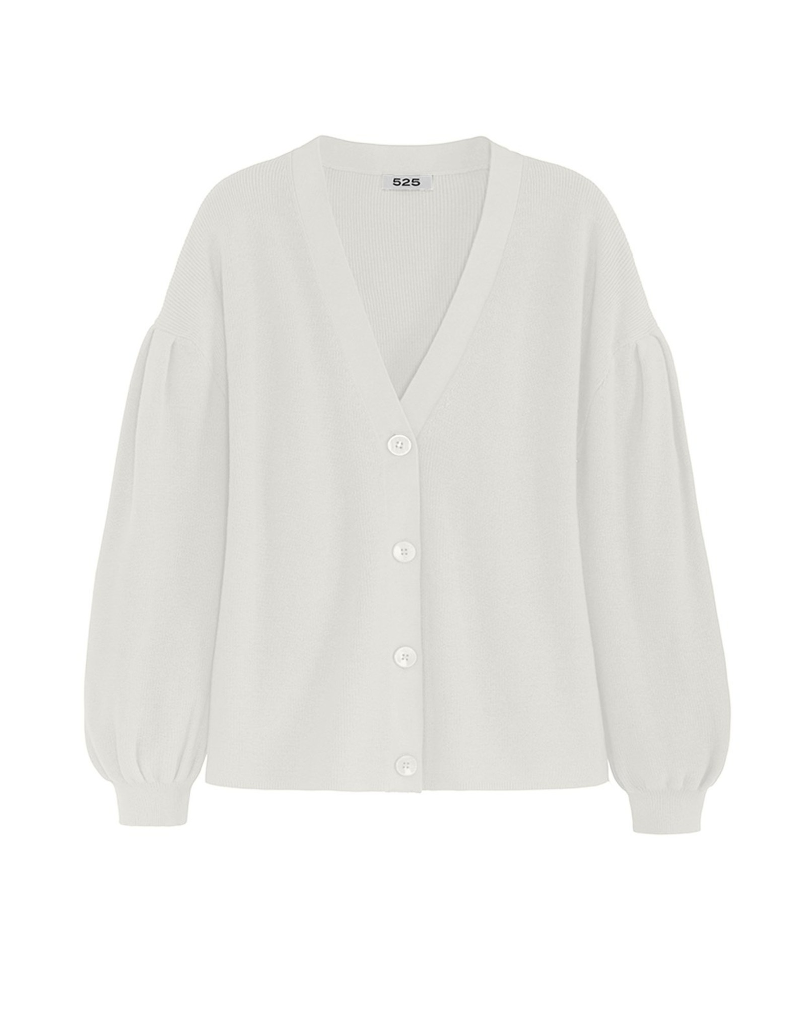 525 America Pleat Sleeve Cardigan