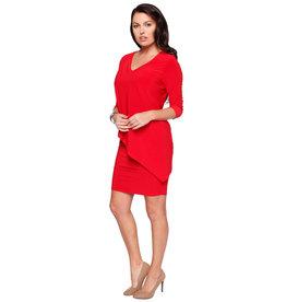 3/4 Sleeve Versatile Tunic Dress