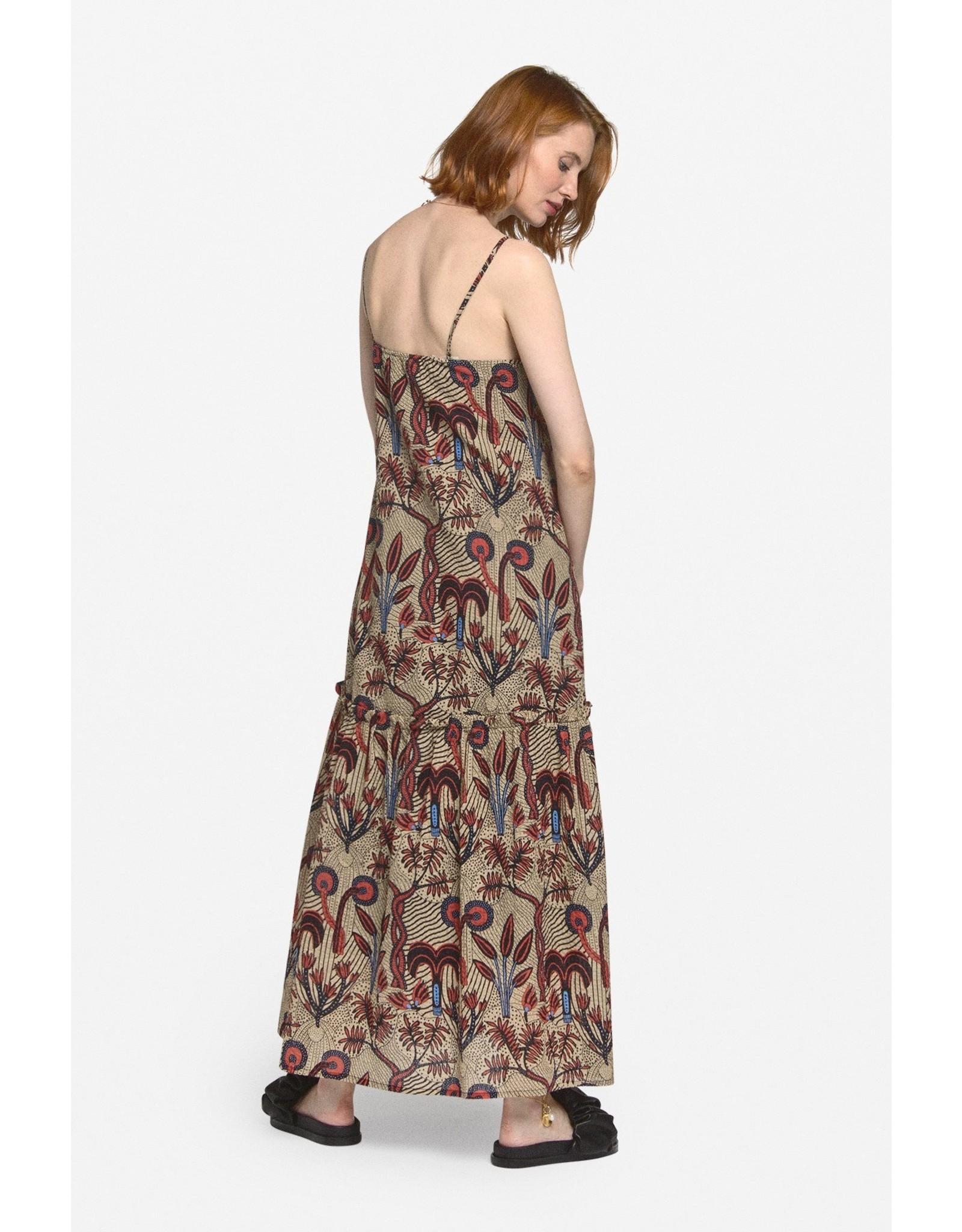 Ottod'Ame Printed Cotton Oversized Dress - DA4315