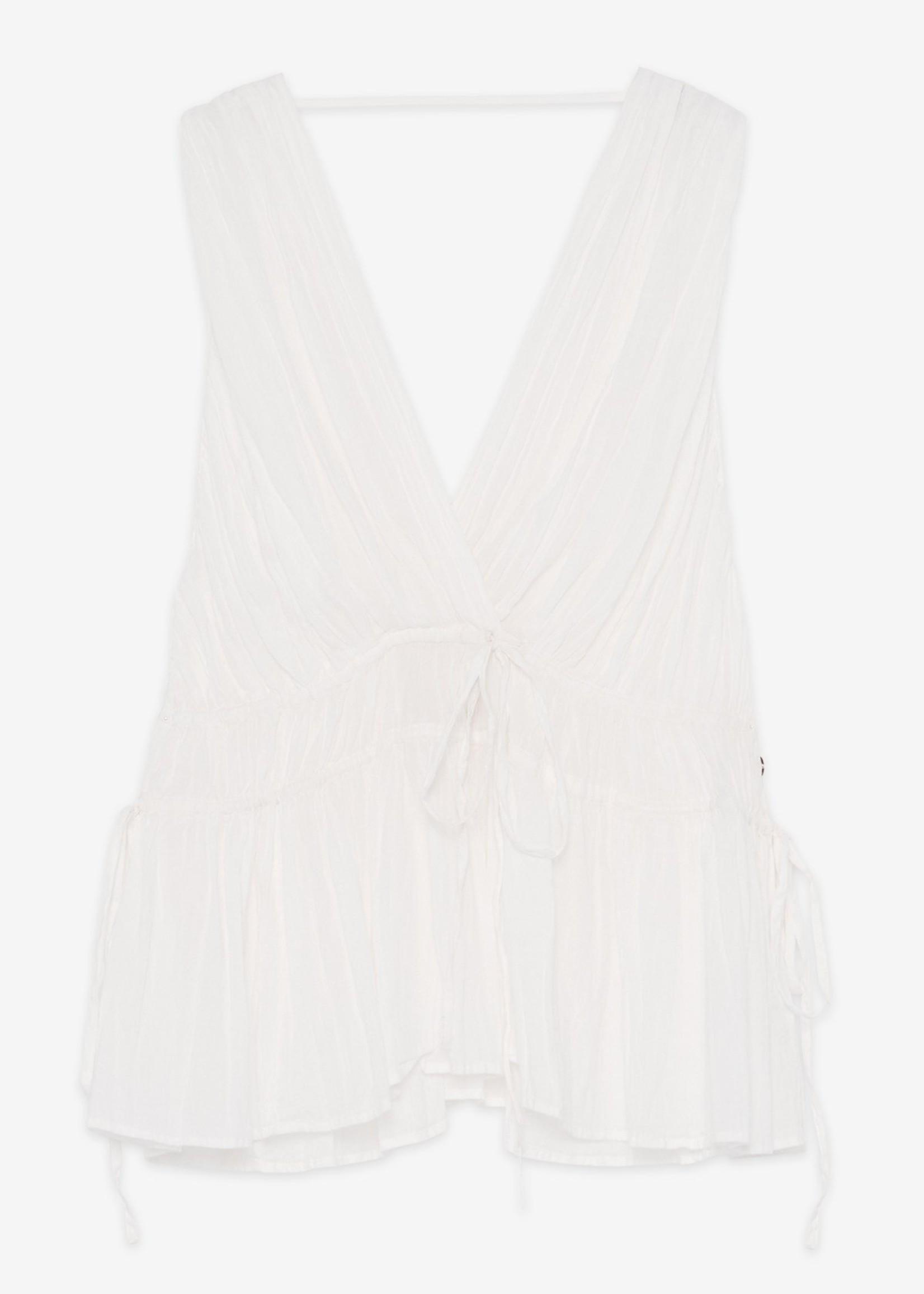 Ottod'Ame Cotton Top w/ Tucks - DC8865