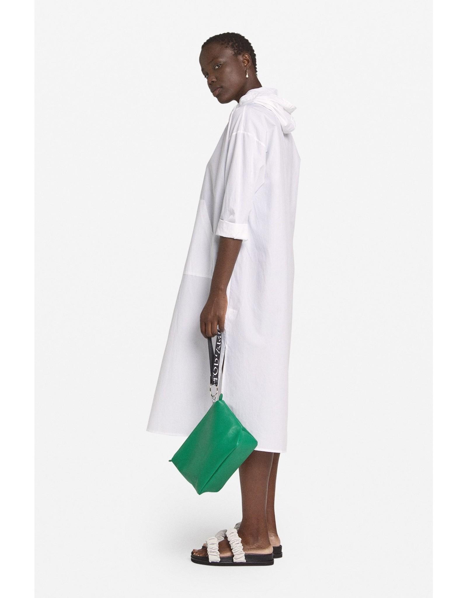 Ottod'Ame Cotton Tunic Dress w/ Hood - DA4249