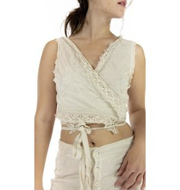 Magnolia Pearl Faustine French Wrap Tank - Moonlight