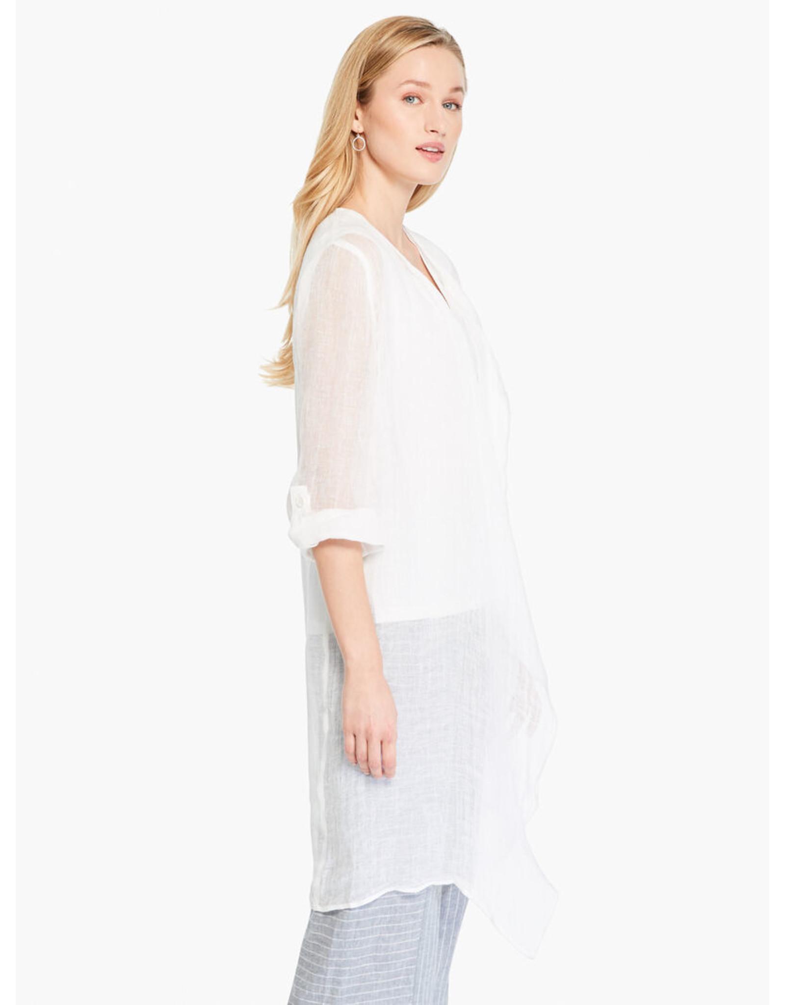 Nic+Zoe Boatcruise Cardigan - Paper White