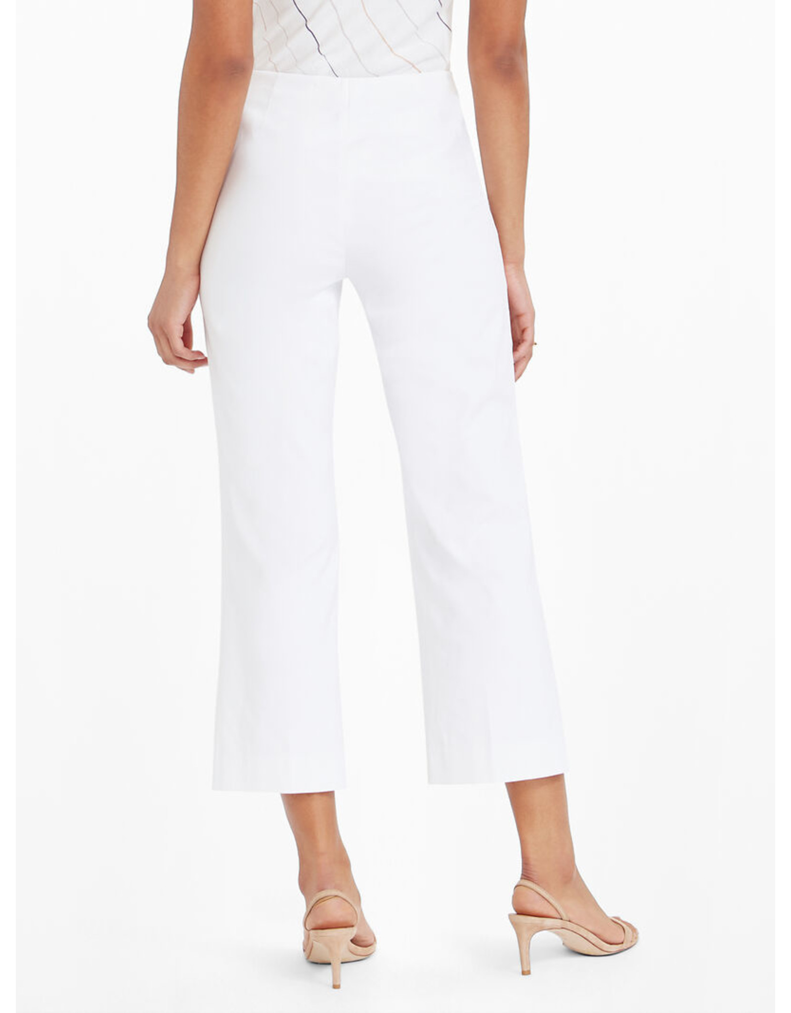 Nic+Zoe Everyday Crop Polished Wonderstretch Pant - Paper White
