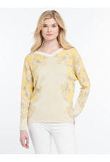 Nic+Zoe Lemons Sweater Reversible