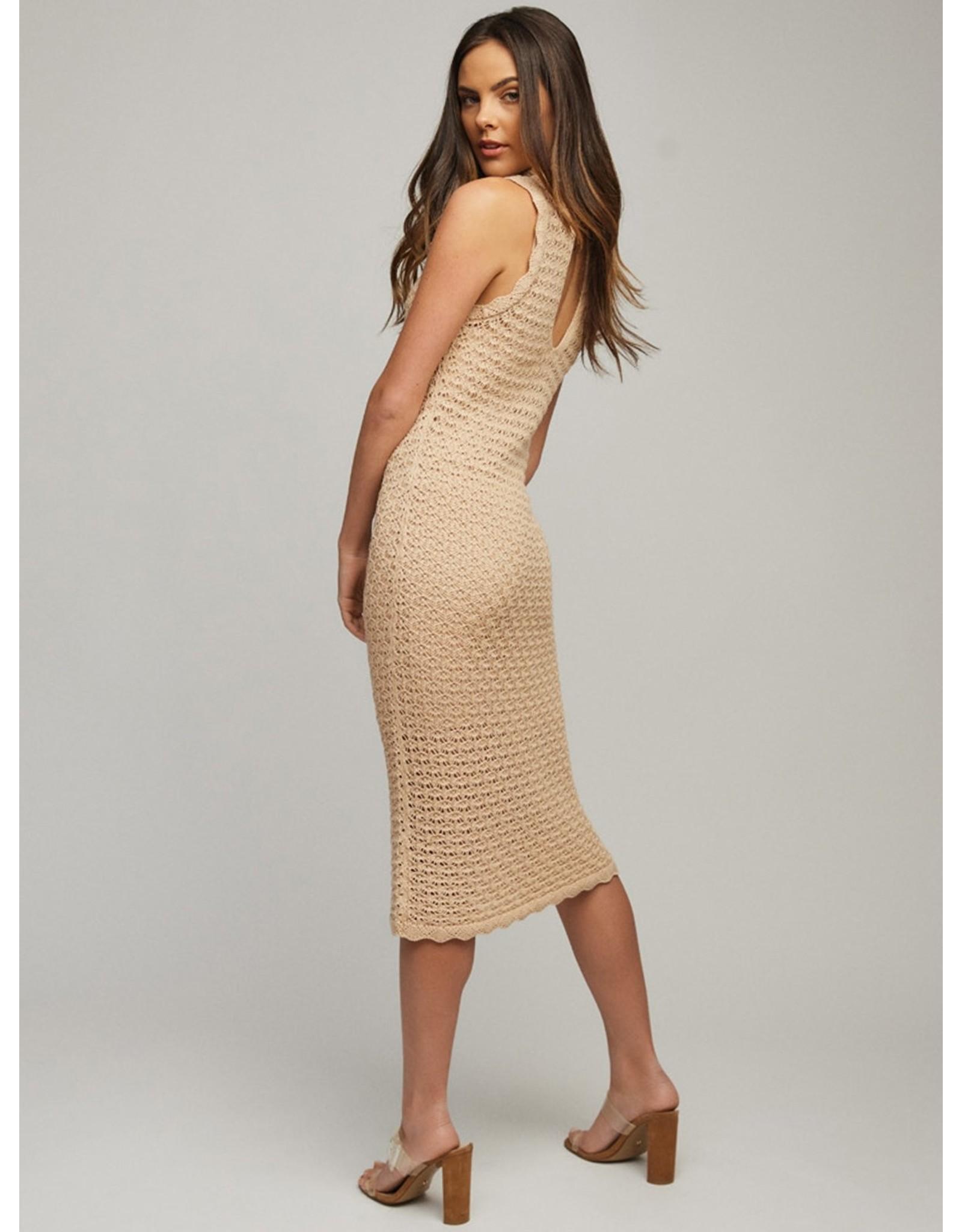 525 America Sleeveless Midi Dress