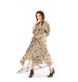 Magnolia Pearl Bernice Duffle Coat - Flora