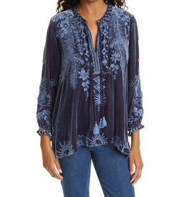 Johnny Was Dylan Double Tassel Peasant Blouse