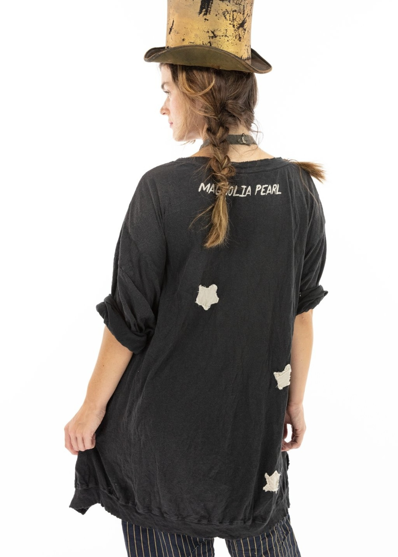 Magnolia Pearl Oversized Francis T, Hand Stitched Applique -  Midnight