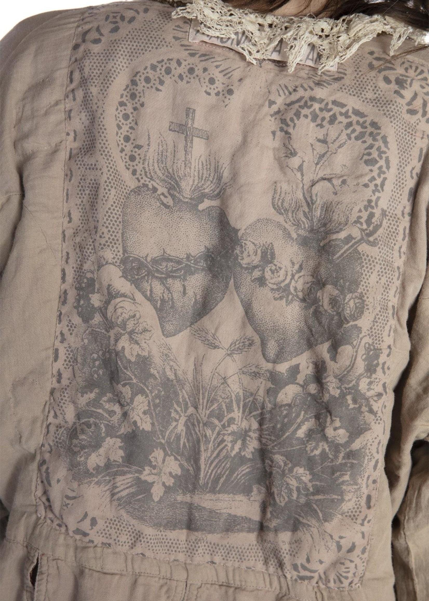Magnolia Pearl Silk Monique Jacket - Bastille