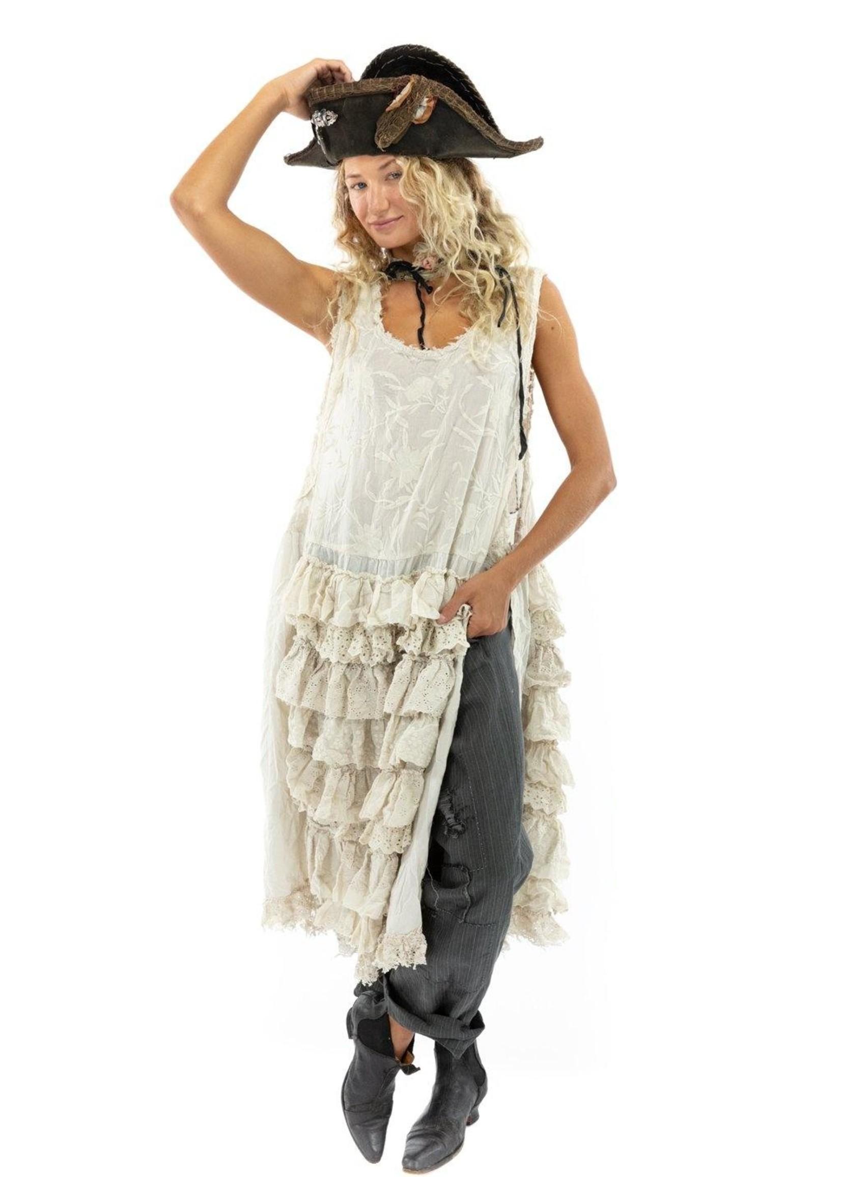 Magnolia Pearl Risette Apron Dress - Moonlight