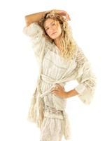 Magnolia Pearl Lace Poelle Tunic - Moonlight