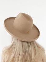 Gigi Pip The Cara Loren Pencil Brim Hat - Tan