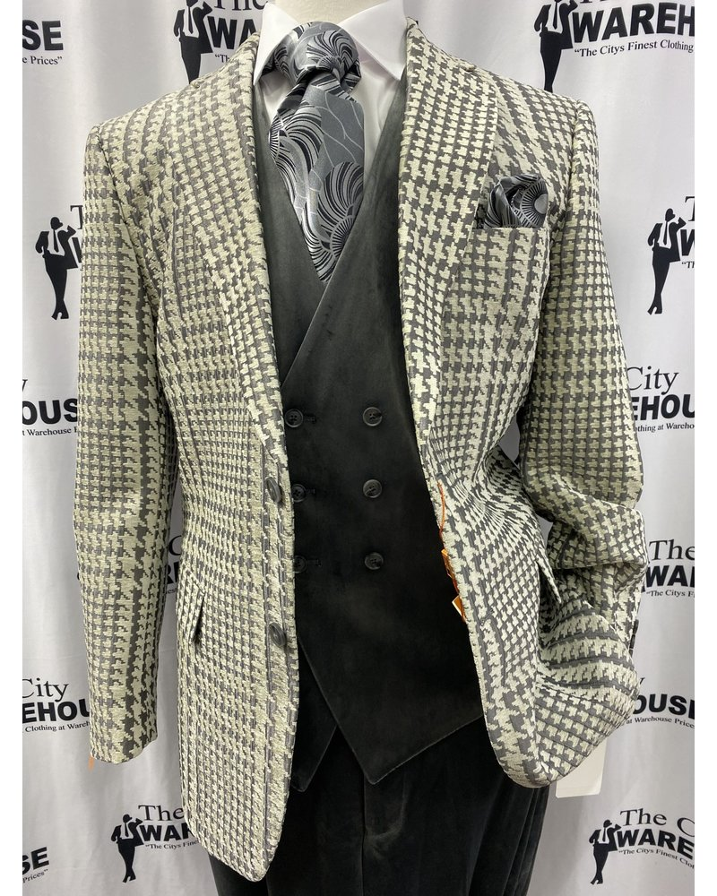3PC HOUNDSTOOTH COMPOSE