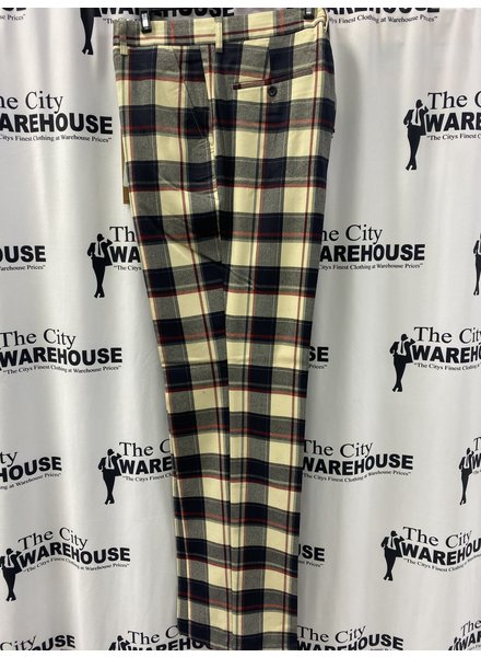 Prestige Wool Plaid Pant