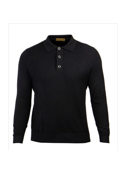 3B Polo Solid Sweater