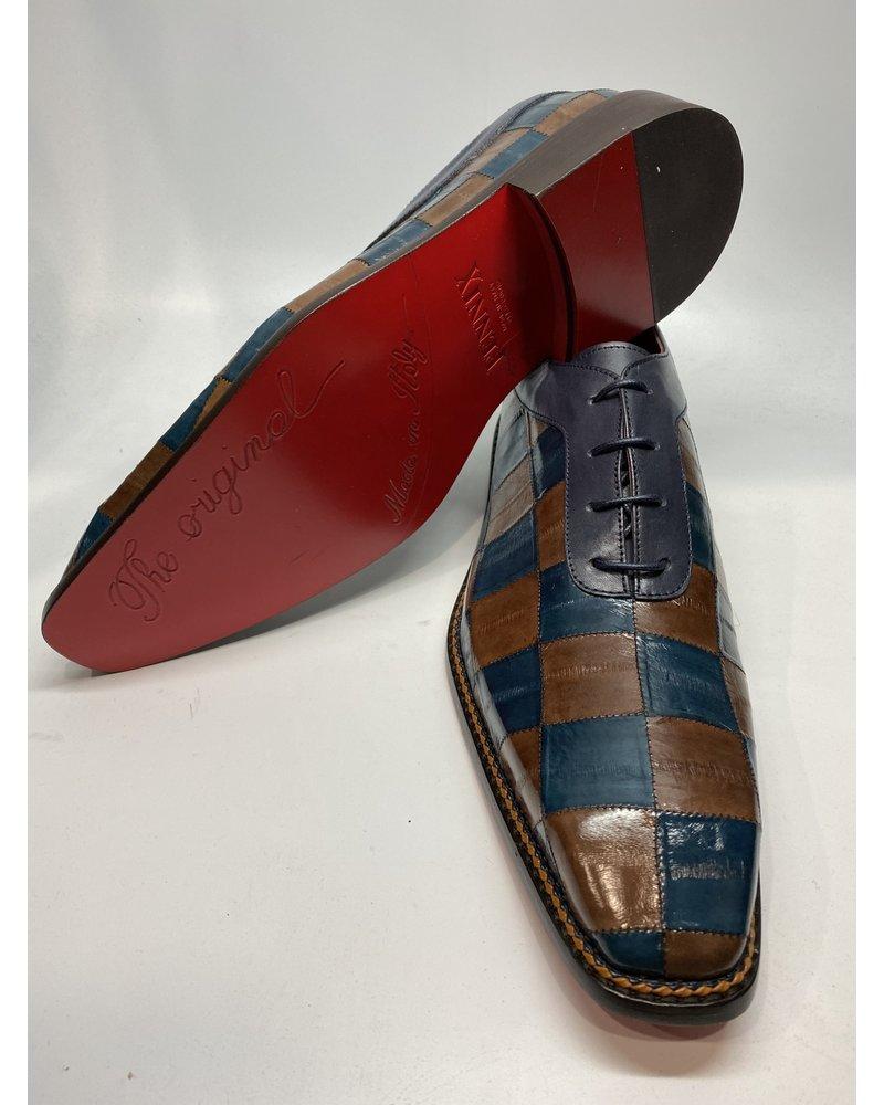 Fennix Eel Skin Lace Shoe