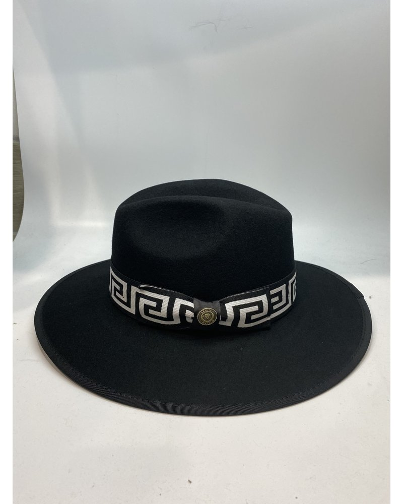The Wesley Greek Key Band Hat