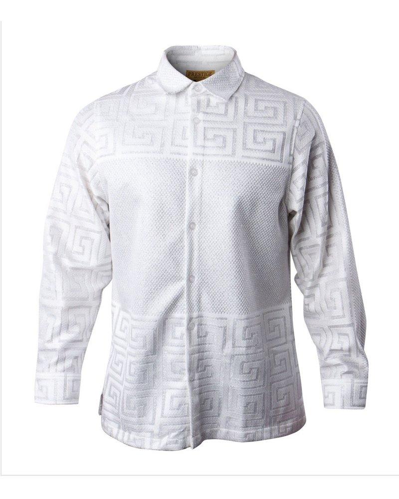Prestige Metallic Lace Shirt