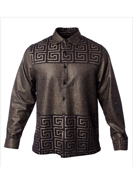 Prestige Metallic Lace Shirt