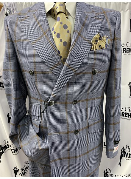 Tiglio Double Breasted Suit
