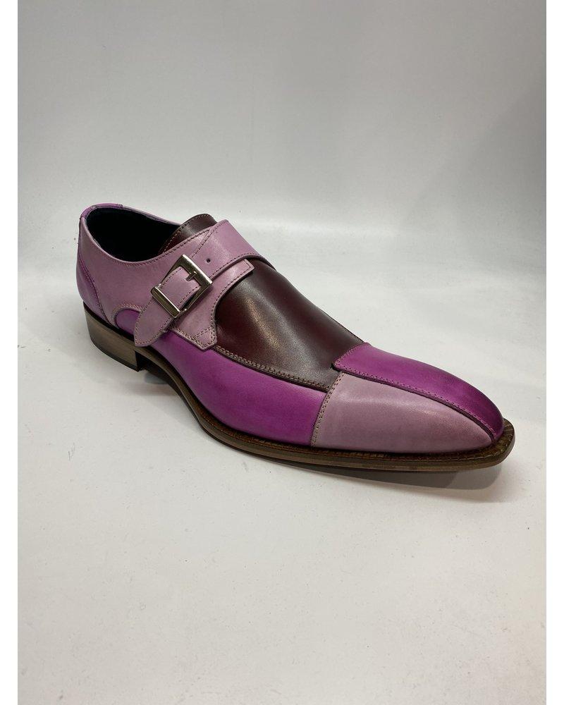 Duca Tri Tone Buckle Strap Shoe