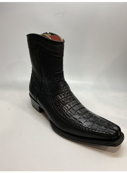 Los Altos Square Toe Caiman Tail Boot
