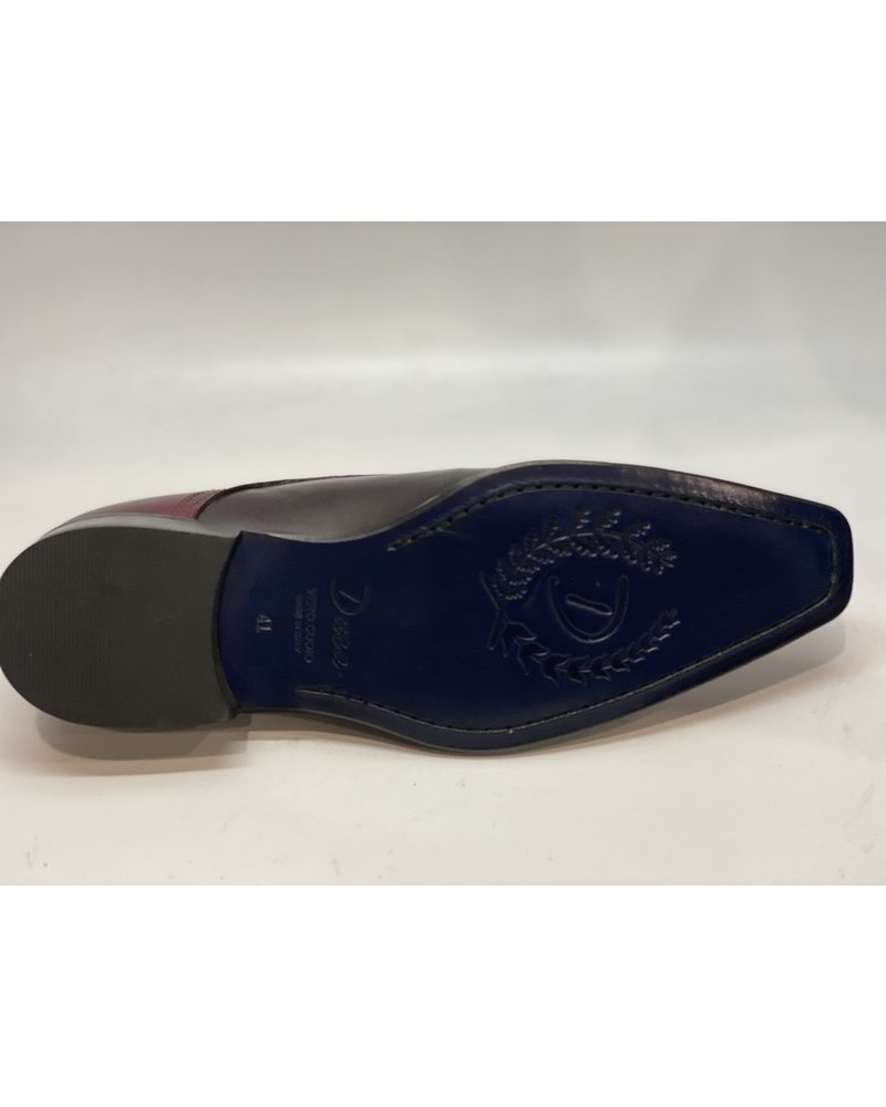 Duca Two Tone Cap Toe Leather Shoe
